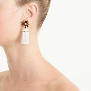 J Crew honeymoon tassel earrings